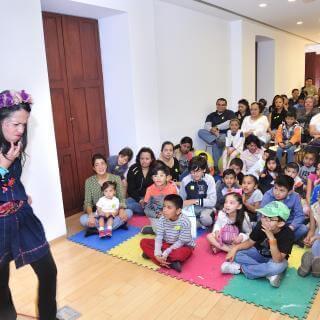 Cuenta-cuentos para niños | Actividades | Museo Amparo, Puebla.