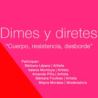 Dimes y diretes: Cuerpo, resistencia, desborde   Actividades   Museo Amparo, Puebla.