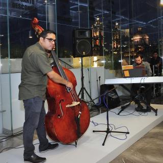 Dúo de Jazz | Actividades | Museo Amparo, Puebla.