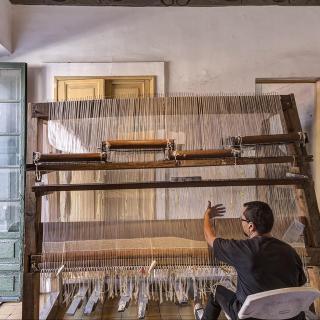 Nacido en casa. Devenires y porvenires del oficio de la tapicería Alto Liso en Jalisco, 1968-2018 | Actividades | Museo Amparo, Puebla.