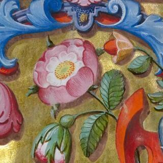 Al canto de las quimeras. Luis Lagarto y la fábrica de la librería de coro de la Catedral de Puebla, 1600-1611 | Exposiciones | Museo Amparo, Puebla.