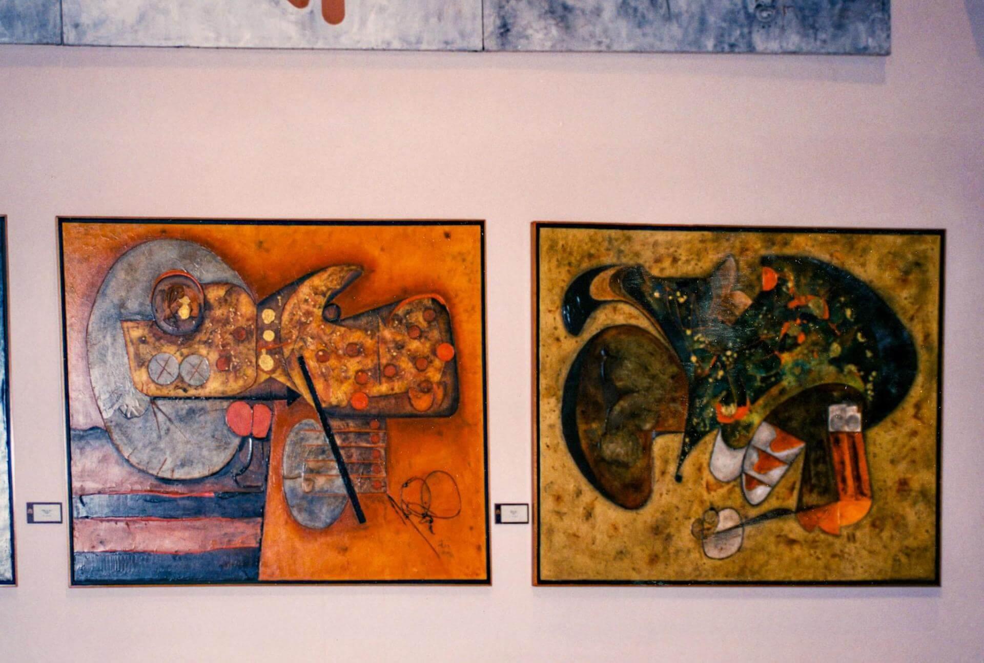 Manuel Felguérez. Selección de obras | Exposiciones