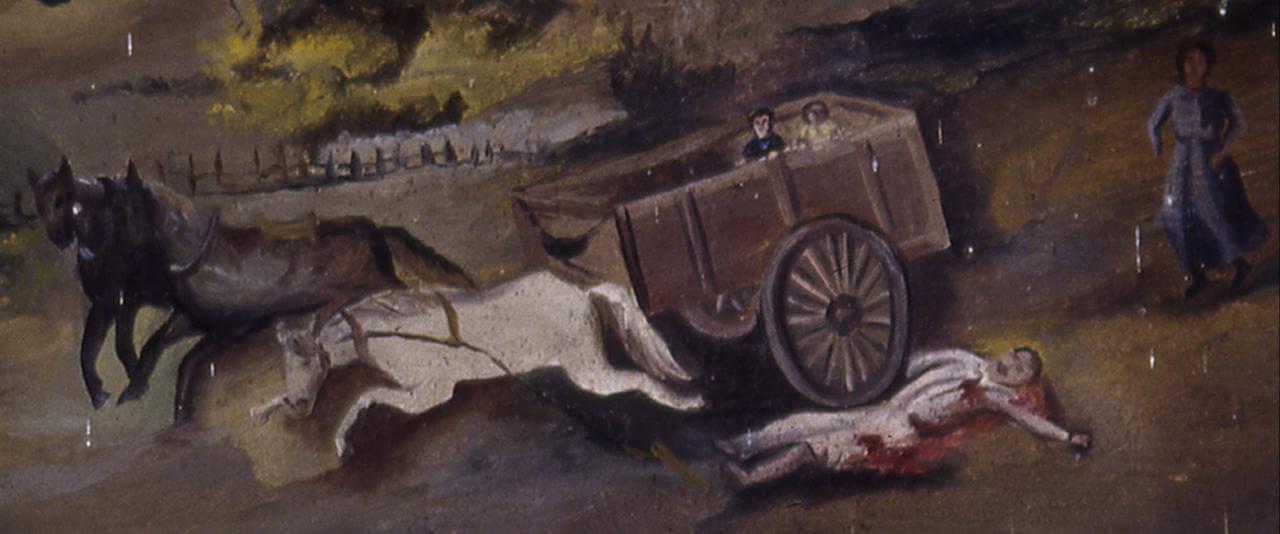 Retablo a los Santos Médicos | Testimonios de fe: Colección de Exvotos del Museo Amparo | Museo Amparo, Puebla