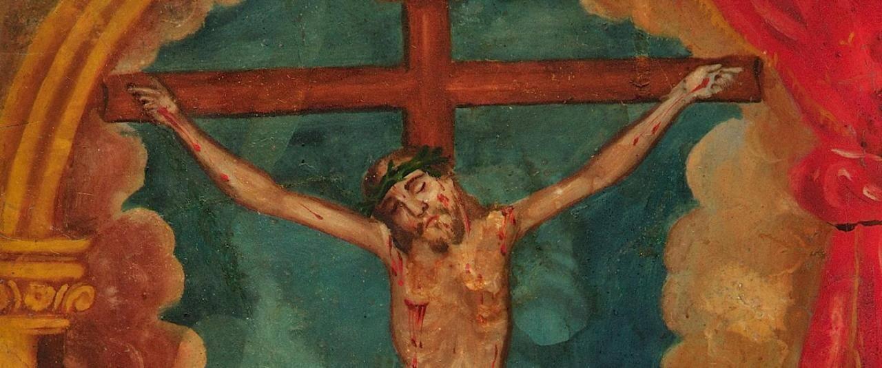 Exvoto devocionario al Señor de la Piedad | Testimonios de fe: Colección de Exvotos del Museo Amparo | Museo Amparo, Puebla
