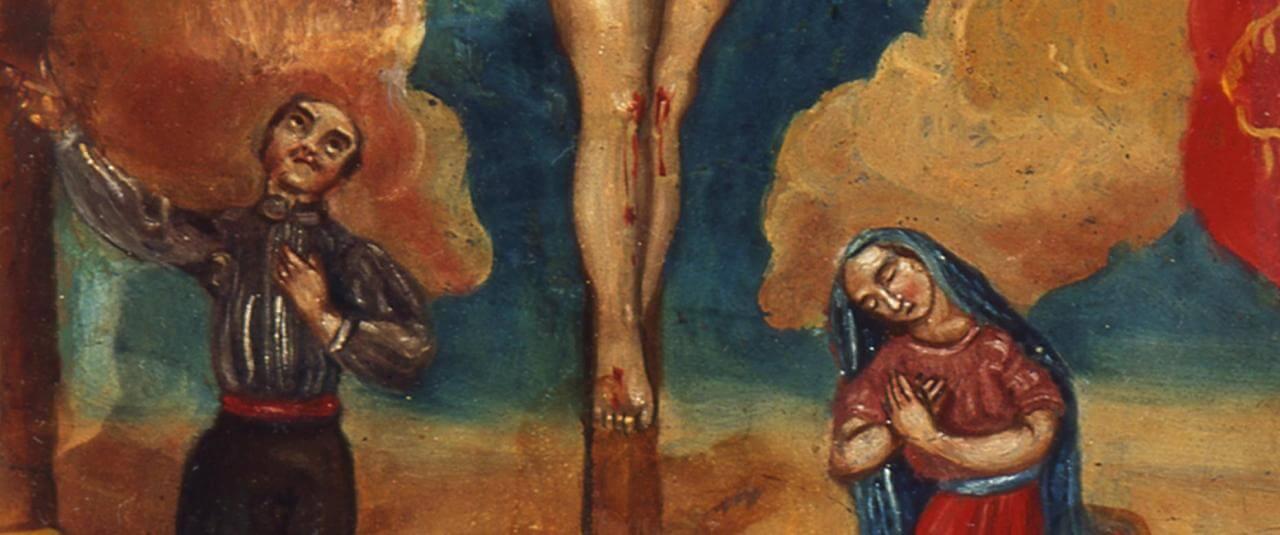 Retablo al Señor de la Piedad | Testimonios de fe: Colección de Exvotos del Museo Amparo | Museo Amparo, Puebla