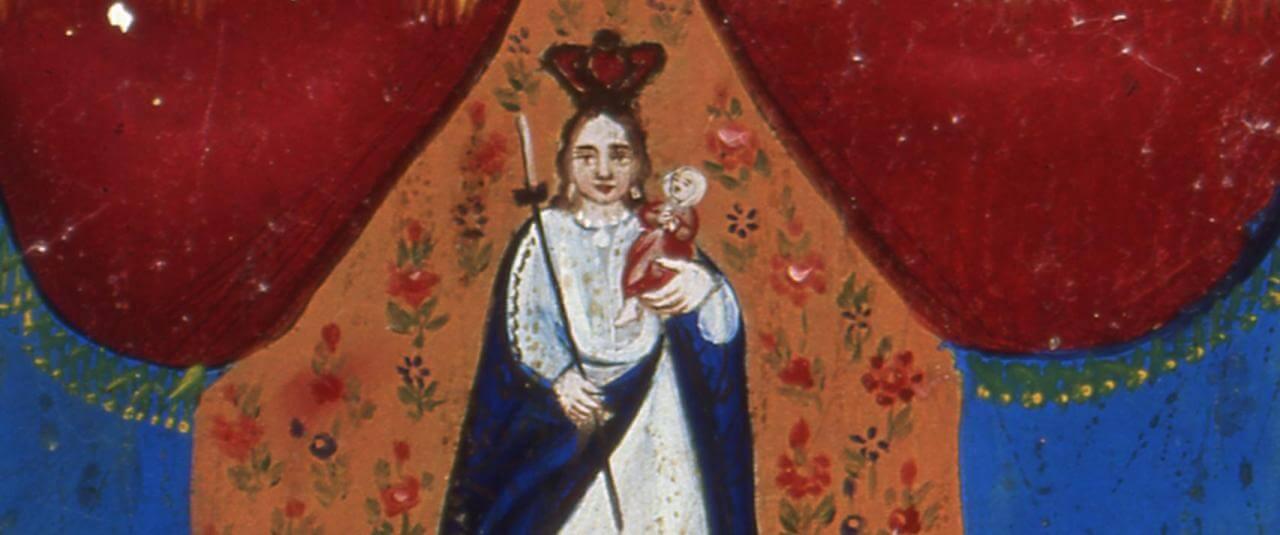 Retablo a la Virgen de la Candelaria | Testimonios de fe: Colección de Exvotos del Museo Amparo | Museo Amparo, Puebla