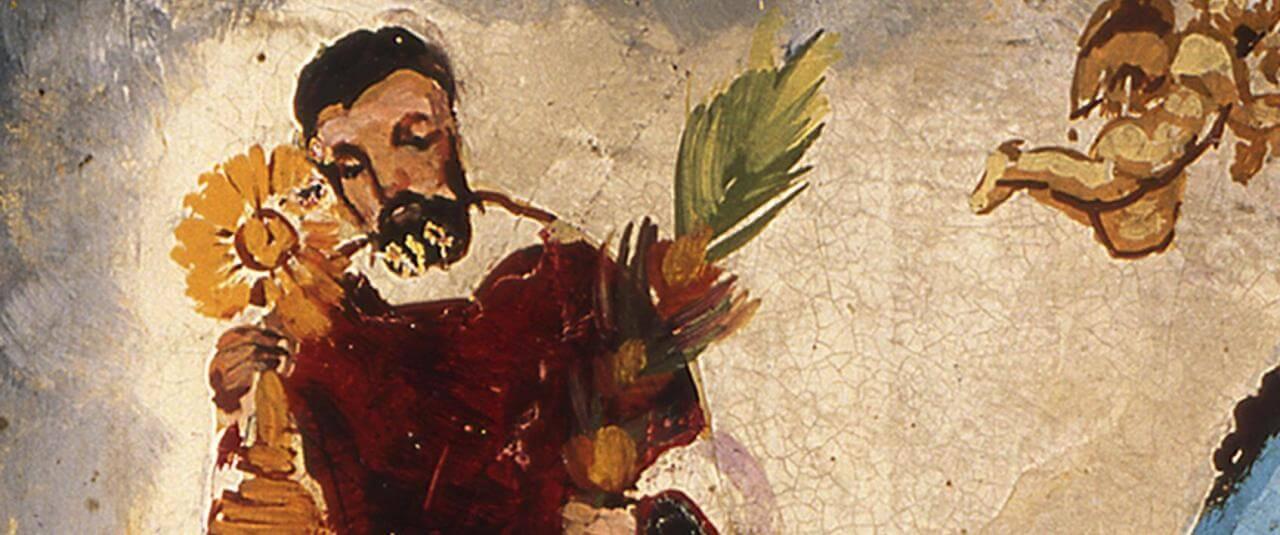 Retablo a San Ramón Nonato y Nuestra Señora de San Juan de los Lagos   Testimonios de fe: Colección de Exvotos del Museo Amparo   Museo Amparo, Puebla
