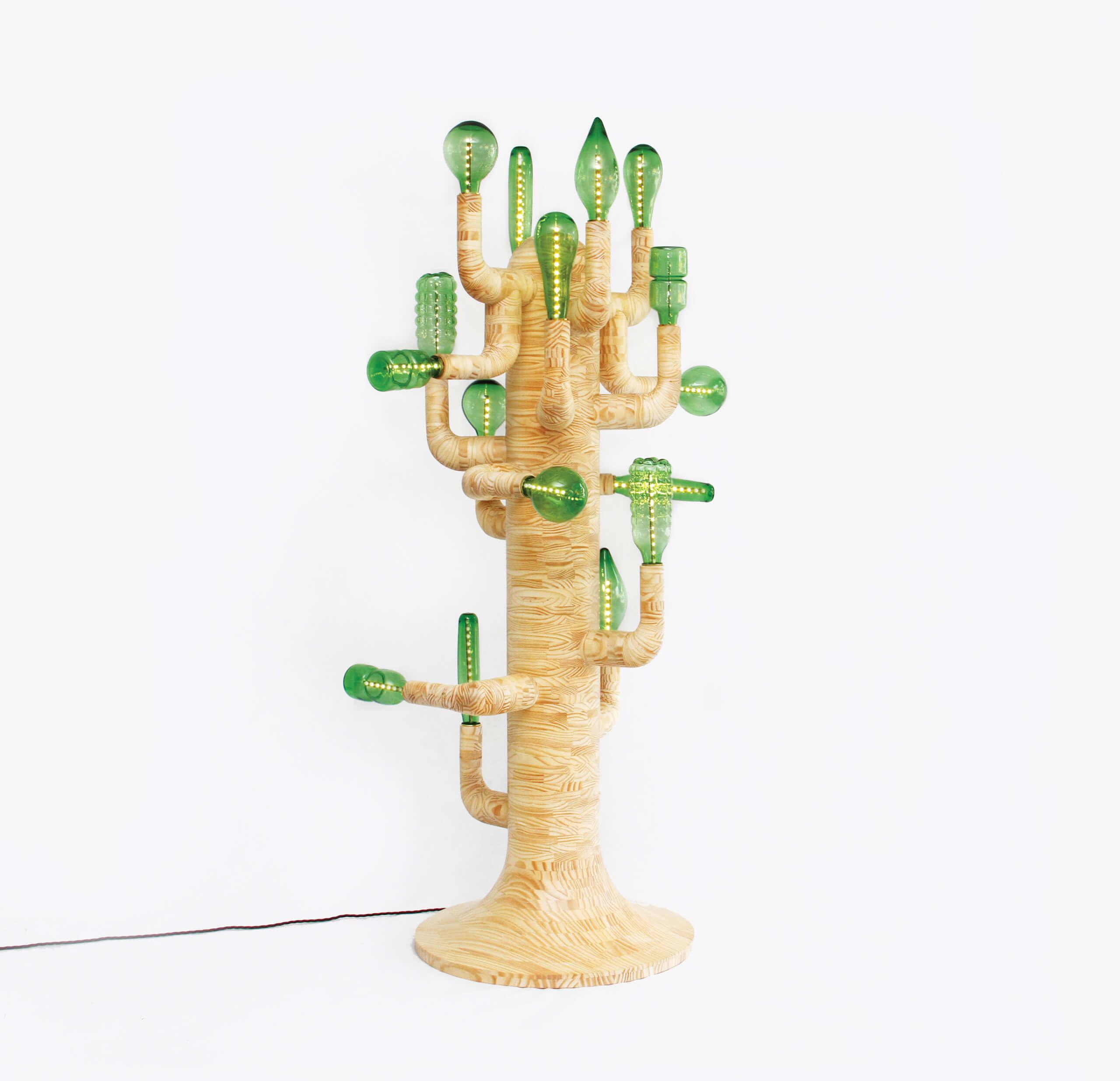 Cactus Light (Luz cactus) | Nuevos Territorios. Laboratorios de diseño, artesanía y arte en América Latina | Museo Amparo, Puebla