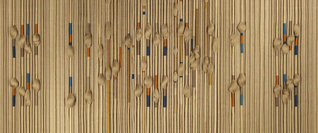 Textile Fresco | Sheila Hicks: Hilos libres. El textil y sus raíces prehispánicas, 1954-2017 | Museo Amparo, Puebla