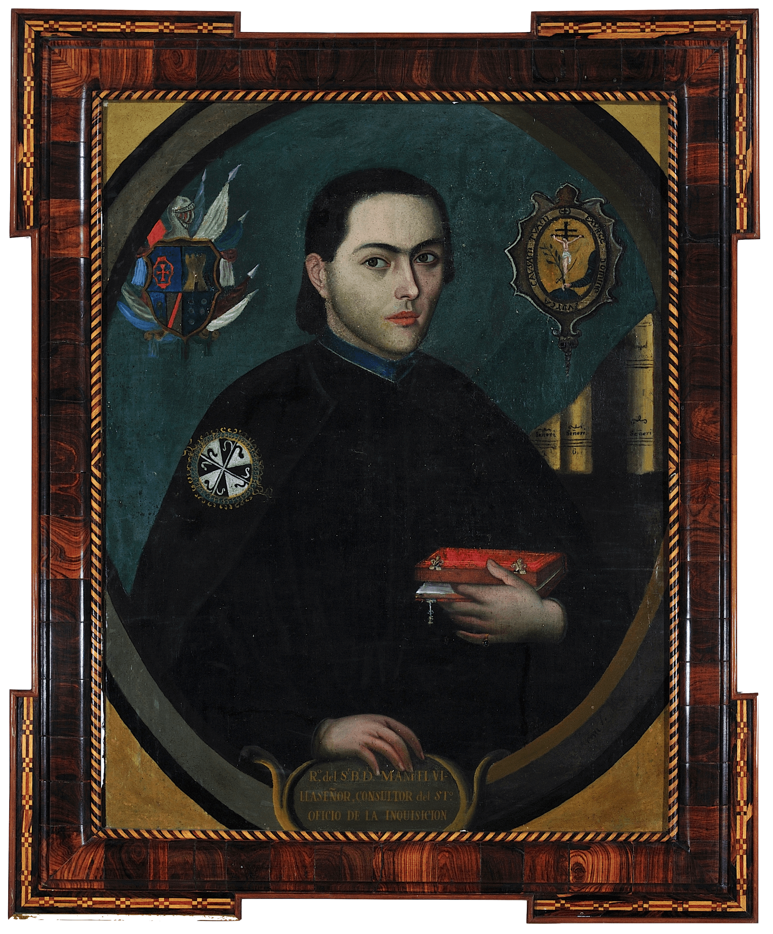 Retrato de Manuel Villaseñor | Creación y restauración: lo singular y complejo del arte | Museo Amparo, Puebla