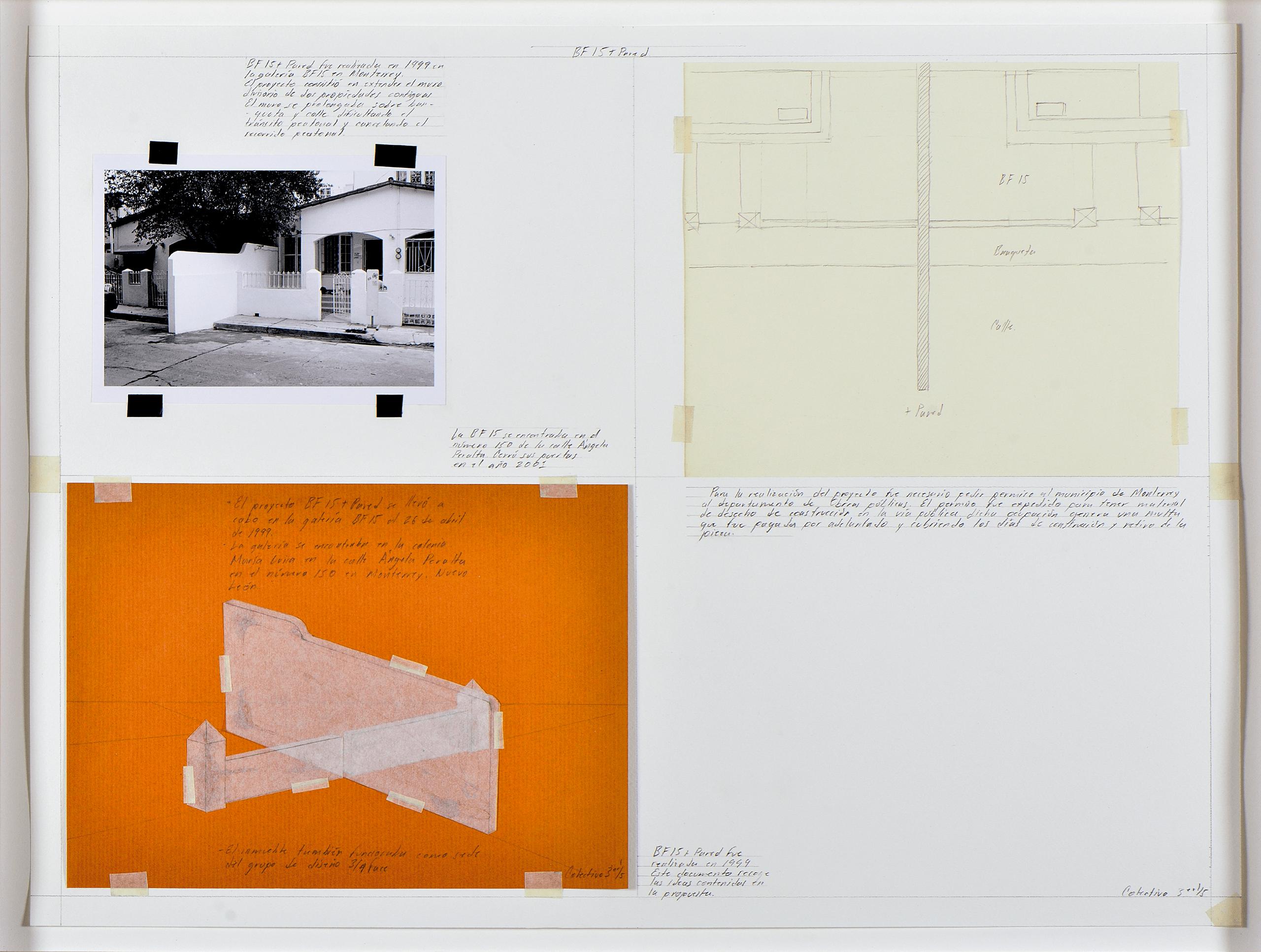 La BF15 + Pared | Tercerunquinto. Obra inconclusa | Museo Amparo, Puebla