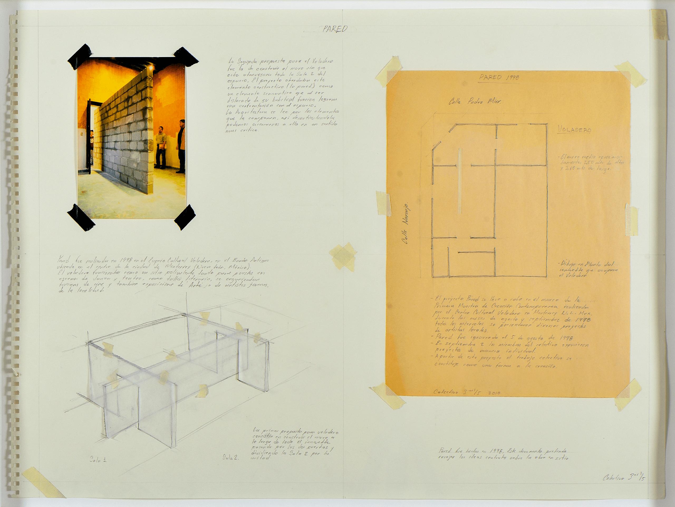 Pared | Tercerunquinto. Obra inconclusa | Museo Amparo, Puebla