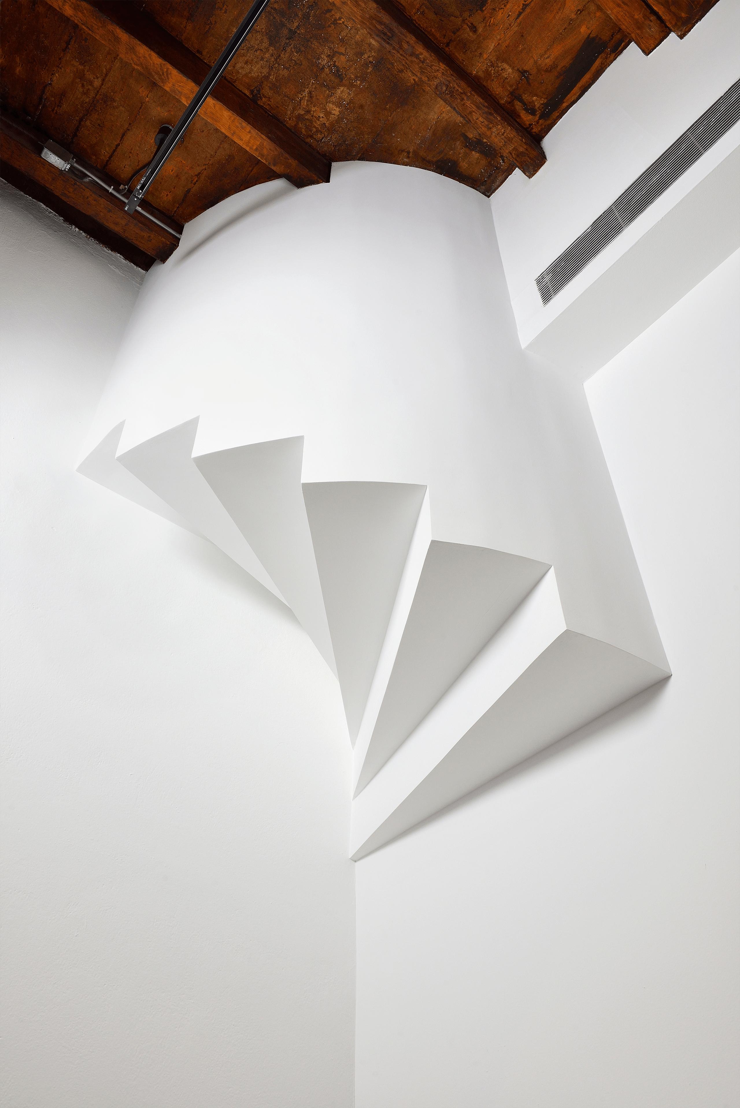 Escalera (Casas habitación)   Tercerunquinto. Obra inconclusa   Museo Amparo, Puebla