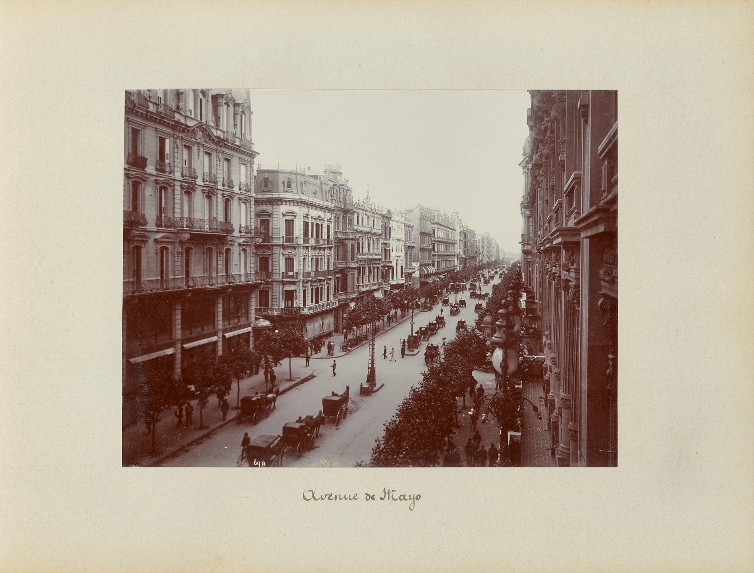 Avenida de Mayo | La metrópolis en América Latina, 1830-1930 | Museo Amparo, Puebla