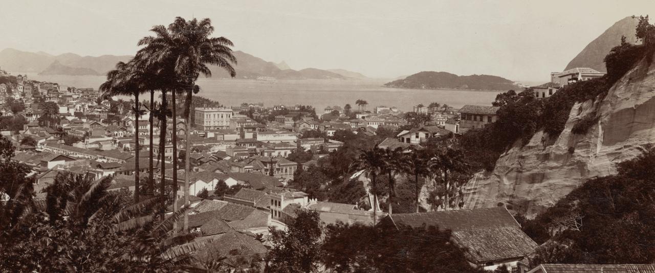 Vista tomada desde Santa Teresa   La metrópolis en América Latina, 1830-1930   Museo Amparo, Puebla