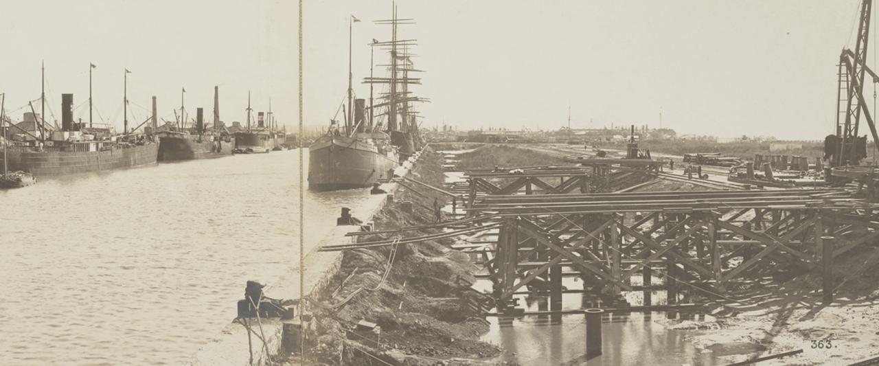 Dock Sud, Buenos Aires | La metrópolis en América Latina, 1830-1930 | Museo Amparo, Puebla
