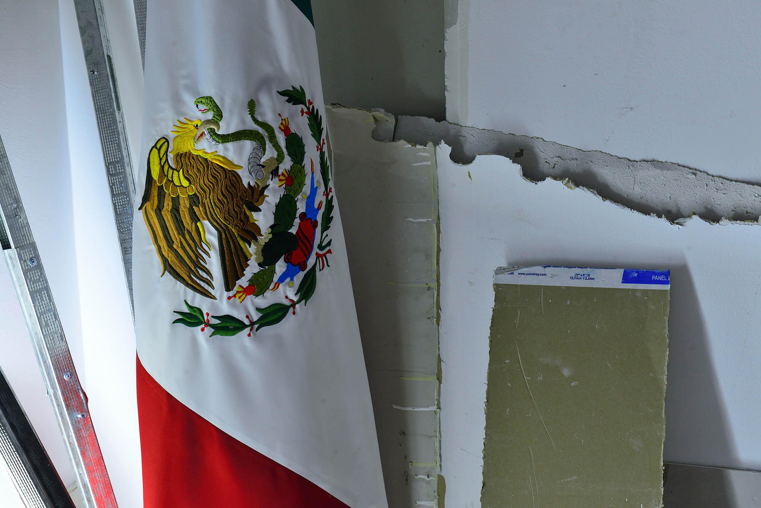 Integración del Consulado General de México en Miami a la exposición Mexico: Sensitive Negotiations | Tercerunquinto. Obra inconclusa | Museo Amparo, Puebla