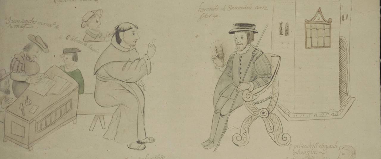 Códice Cuetlaxcohuapan, Puebla | In Tlilli in Tlapalli. Imágenes de la nueva tierra: identidad indígena después de la conquista | Museo Amparo, Puebla