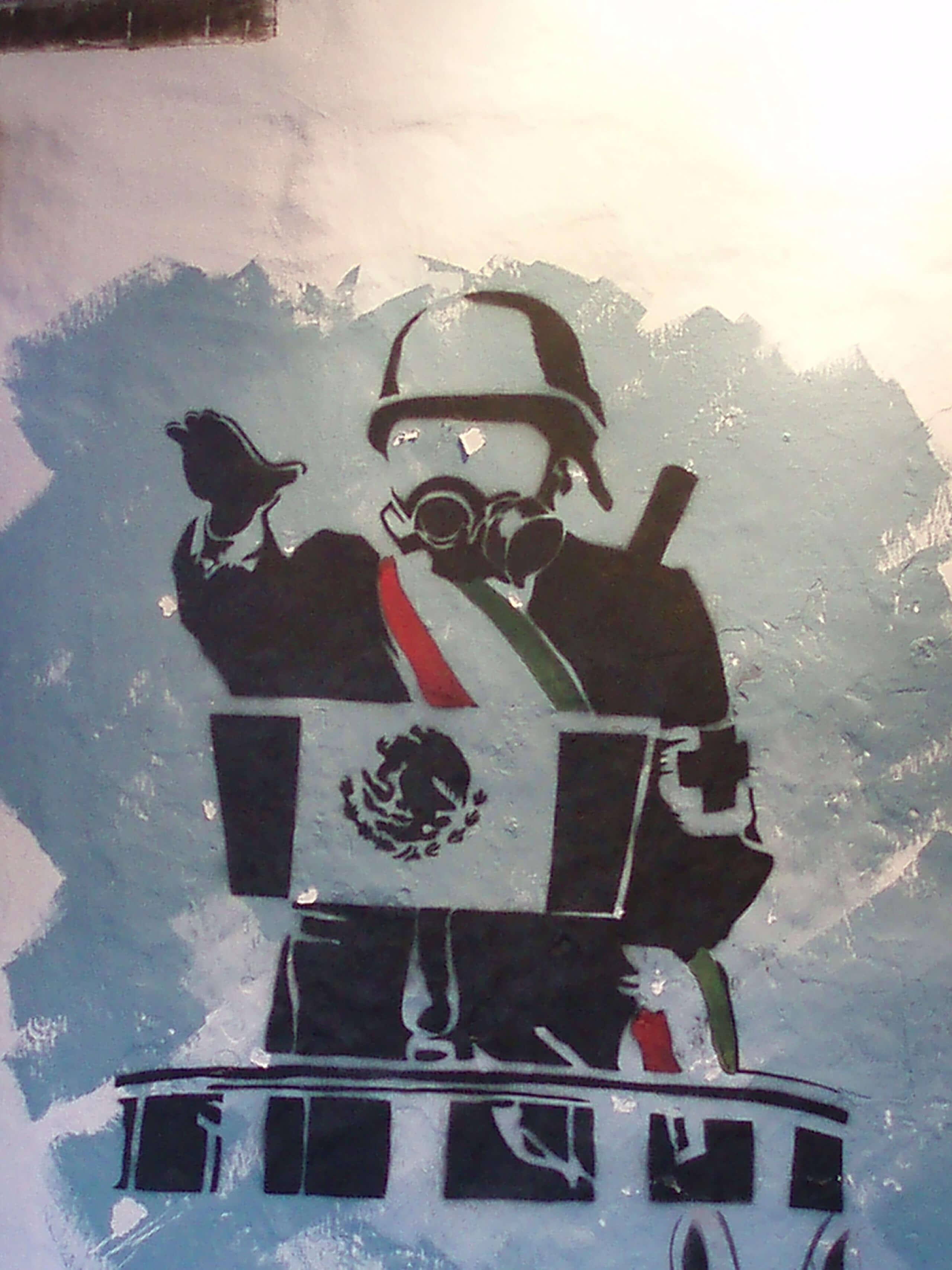Imágenes documentales de los conflictos en Oaxaca (detalle) | La demanda inasumible. Imaginación social y autogestión gráfica en México, 1968-2018 | Museo Amparo, Puebla