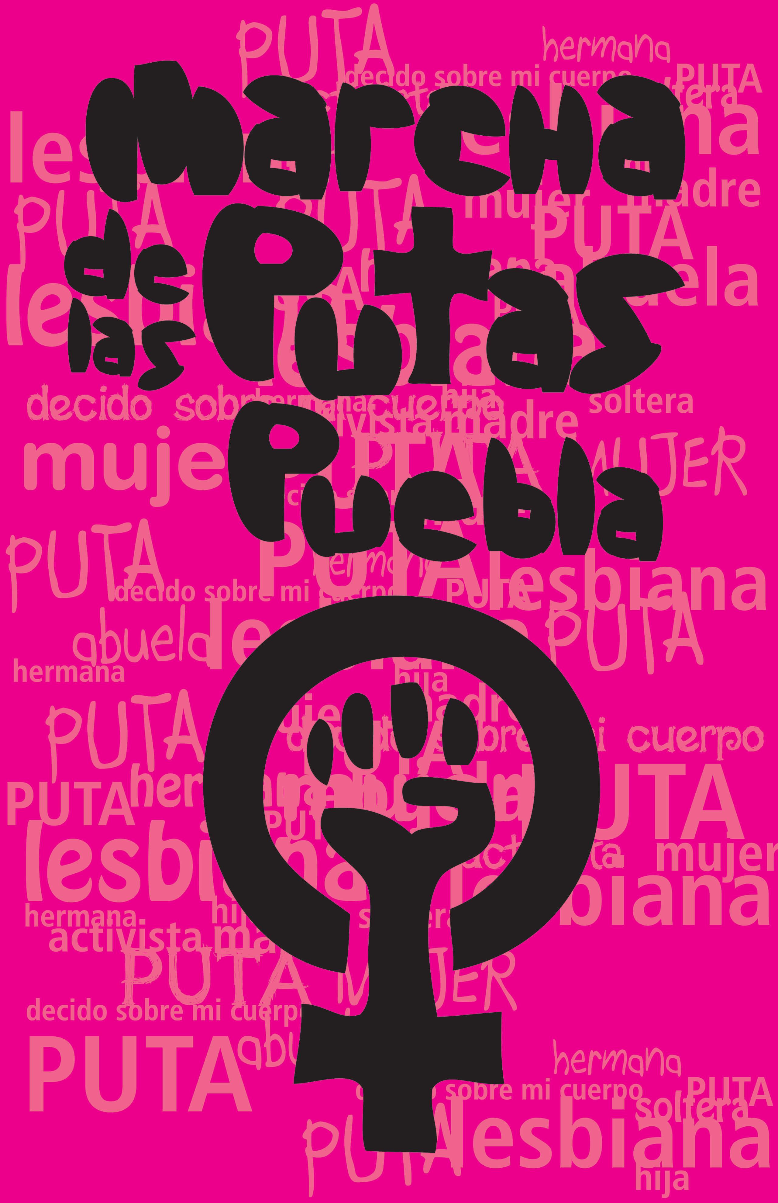Imágenes documentales de la Marcha de las Putas | La demanda inasumible. Imaginación social y autogestión gráfica en México, 1968-2018 | Museo Amparo, Puebla