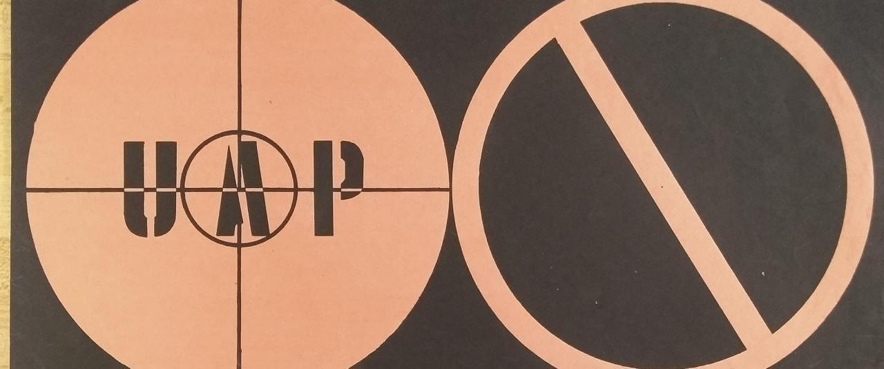 Cartel de la Escuela Popular de Arte, UAP   La demanda inasumible. Imaginación social y autogestión gráfica en México, 1968-2018   Museo Amparo, Puebla