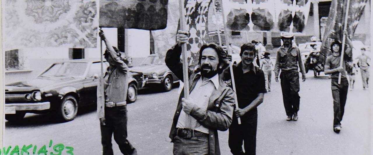 Exprocesión, 1977 Acción ritual urbana, Guadalajara, Jalisco | Marcos Kurtycz. Contra el estado de guerra, un arte de acción total | Museo Amparo, Puebla