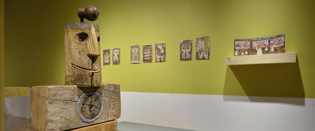 XYZompantli (retrato de Helen Escobedo) | Marcos Kurtycz. Contra el estado de guerra, un arte de acción total | Museo Amparo, Puebla
