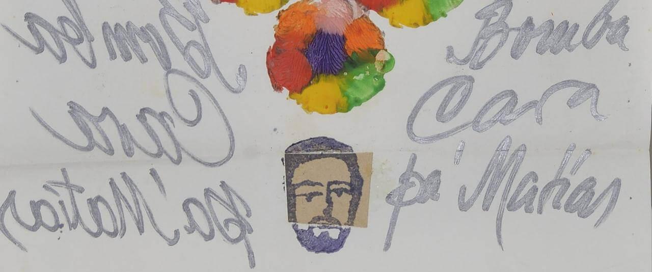 Bomba cara pa' Mathias (Goeritz)   Marcos Kurtycz. Contra el estado de guerra, un arte de acción total   Museo Amparo, Puebla