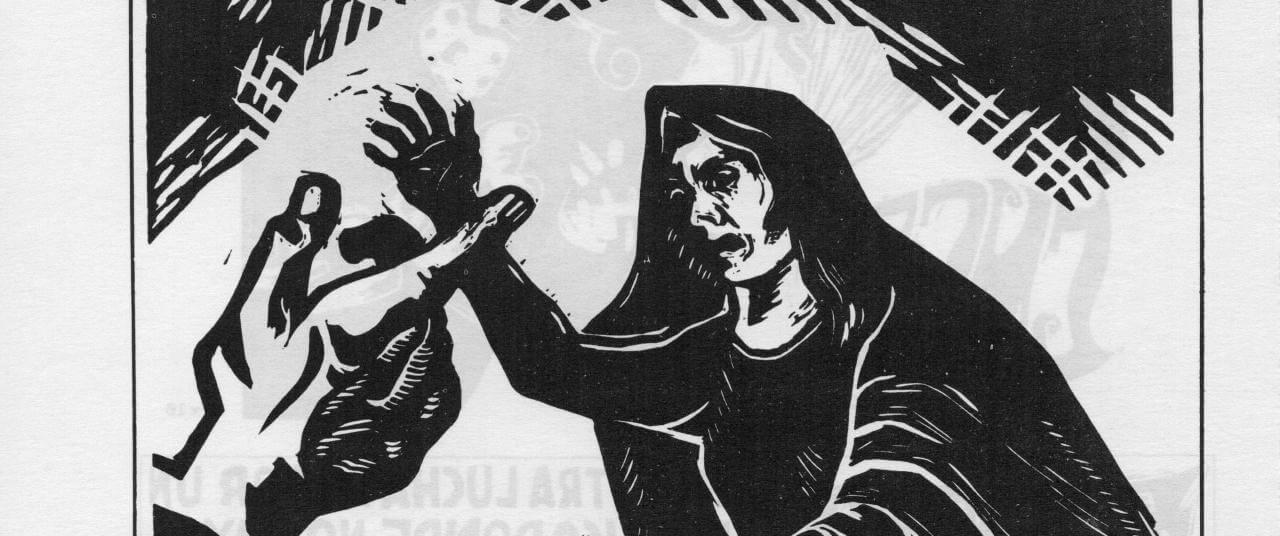 Sí señora su muchacho está muerto...   La demanda inasumible. Imaginación social y autogestión gráfica en México, 1968-2018   Museo Amparo, Puebla