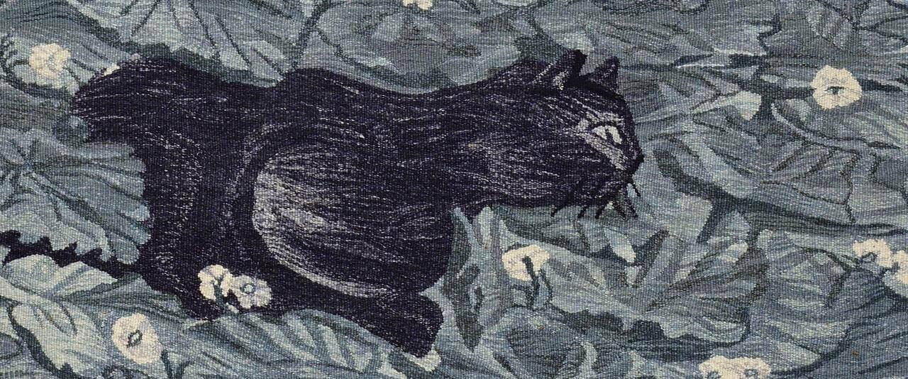 Gato   Nacido en casa. Devenires y porvenires del oficio de la tapicería Alto Liso en Jalisco, 1968-2018   Museo Amparo, Puebla