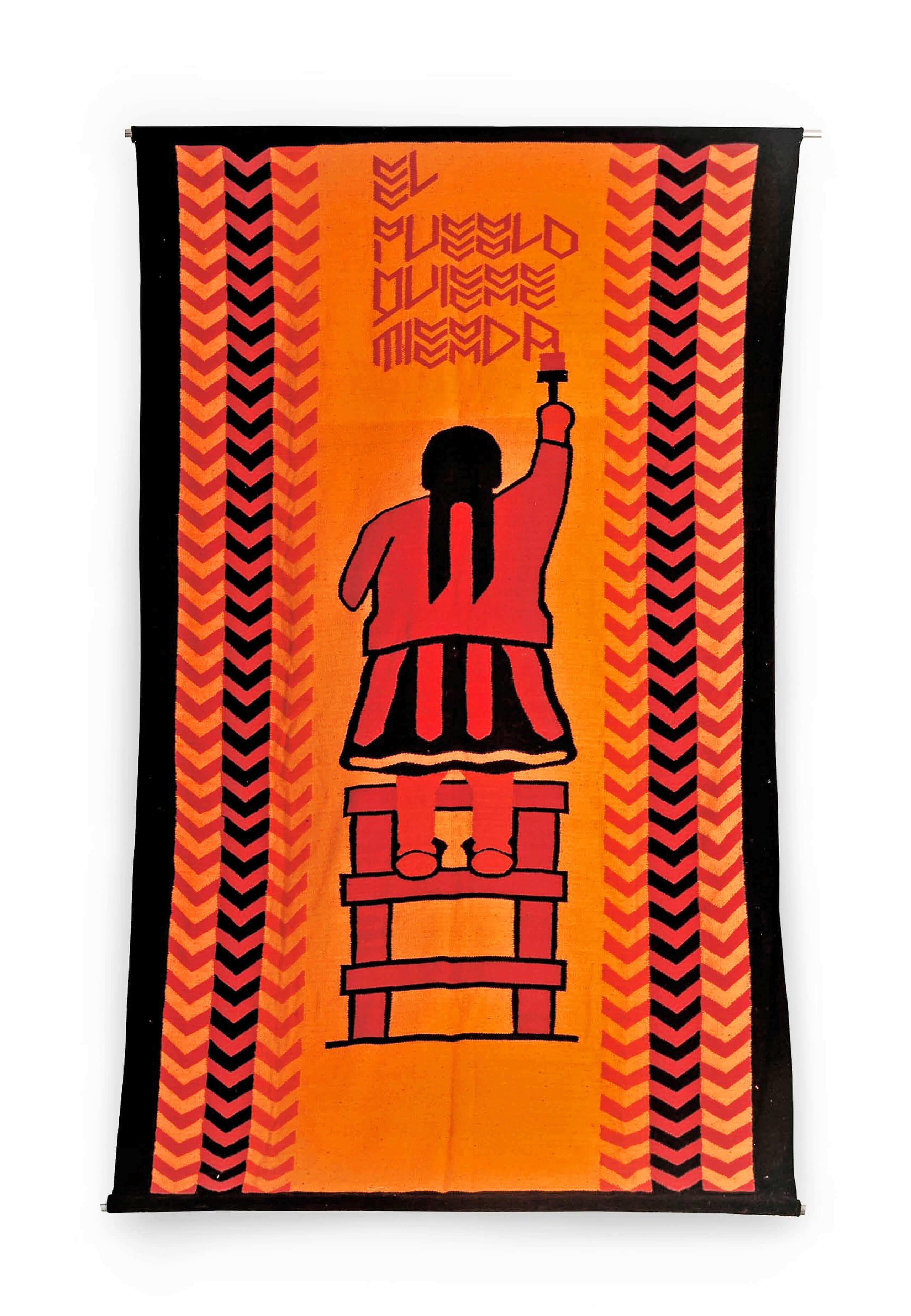 Sin título (Indígena) | Portadores de sentido. Arte contemporáneo en la Colección Patricia Phelps de Cisneros. | Museo Amparo, Puebla