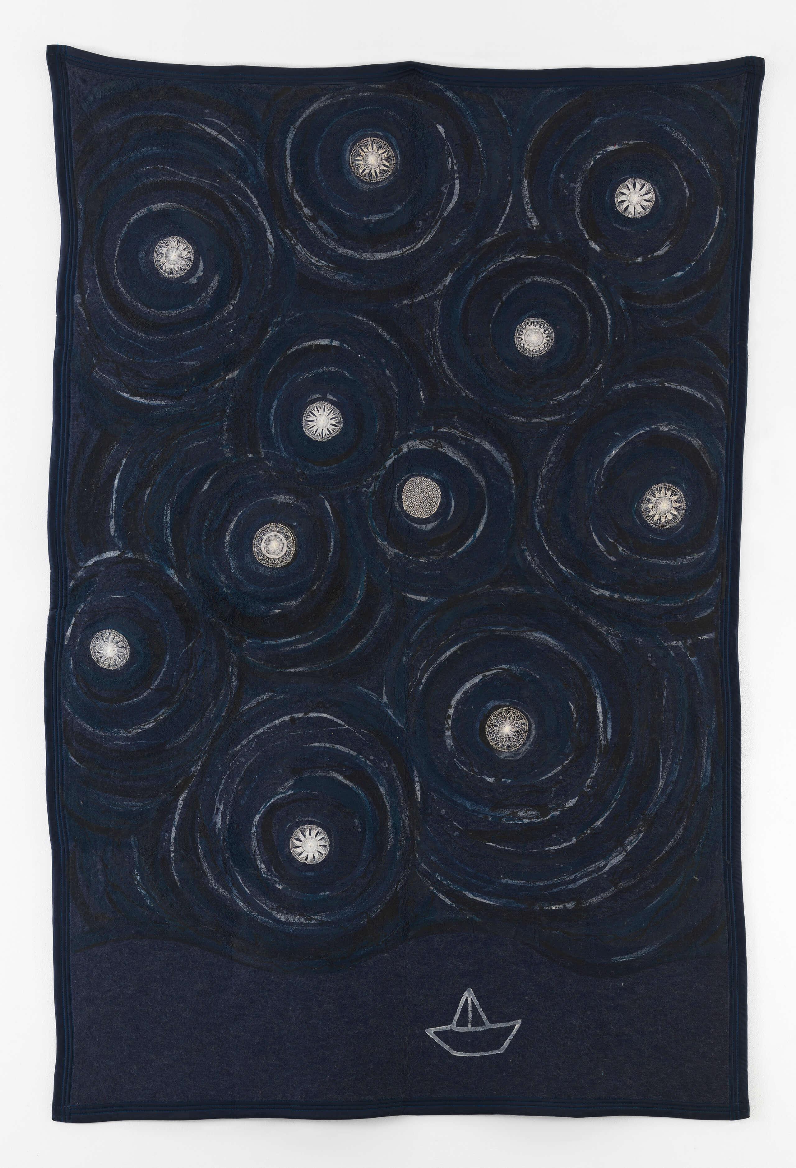 Inmensamente azul | Portadores de sentido. Arte contemporáneo en la Colección Patricia Phelps de Cisneros. | Museo Amparo, Puebla
