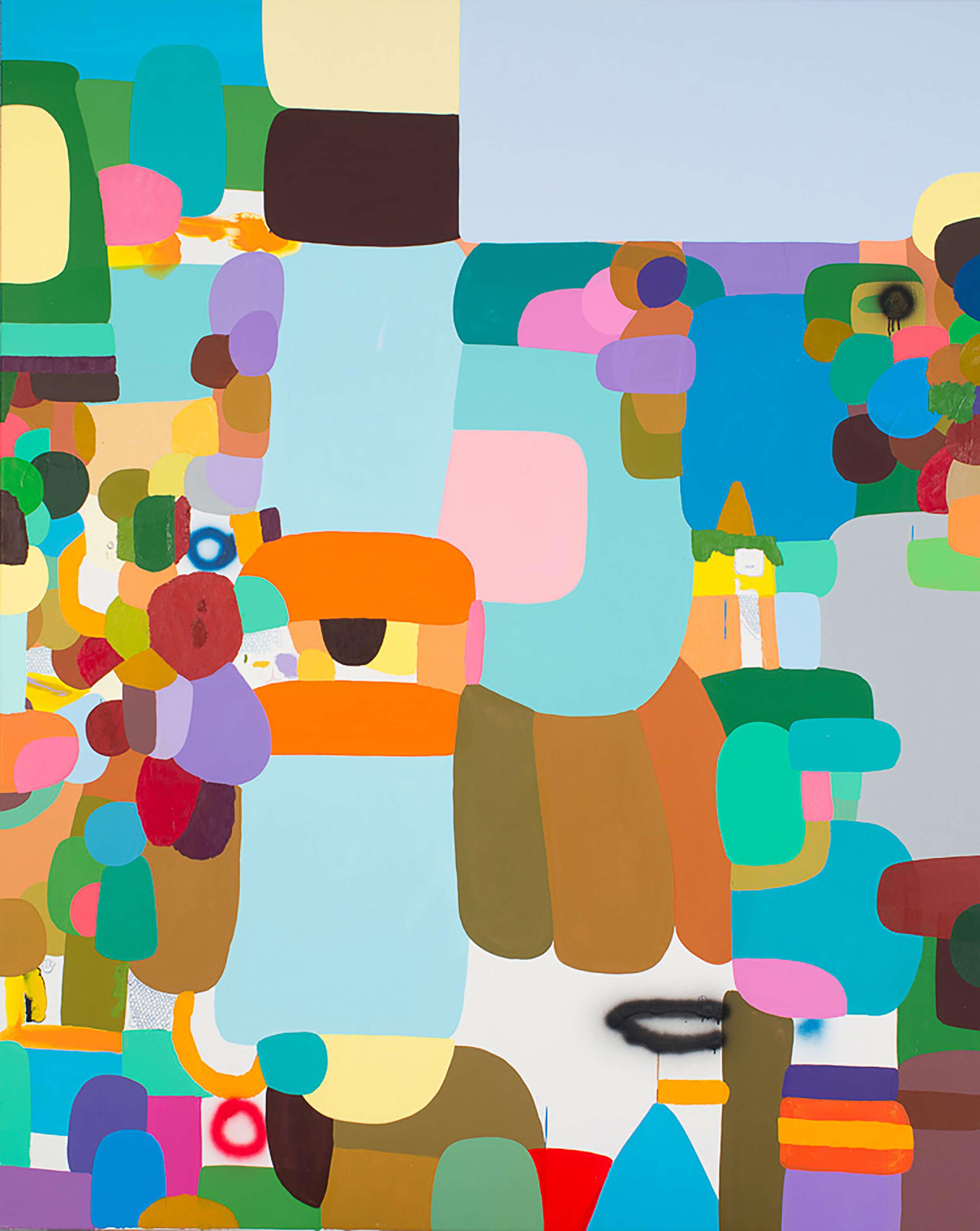 Landscape [Paisaje] | Portadores de sentido. Arte contemporáneo en la Colección Patricia Phelps de Cisneros. | Museo Amparo, Puebla