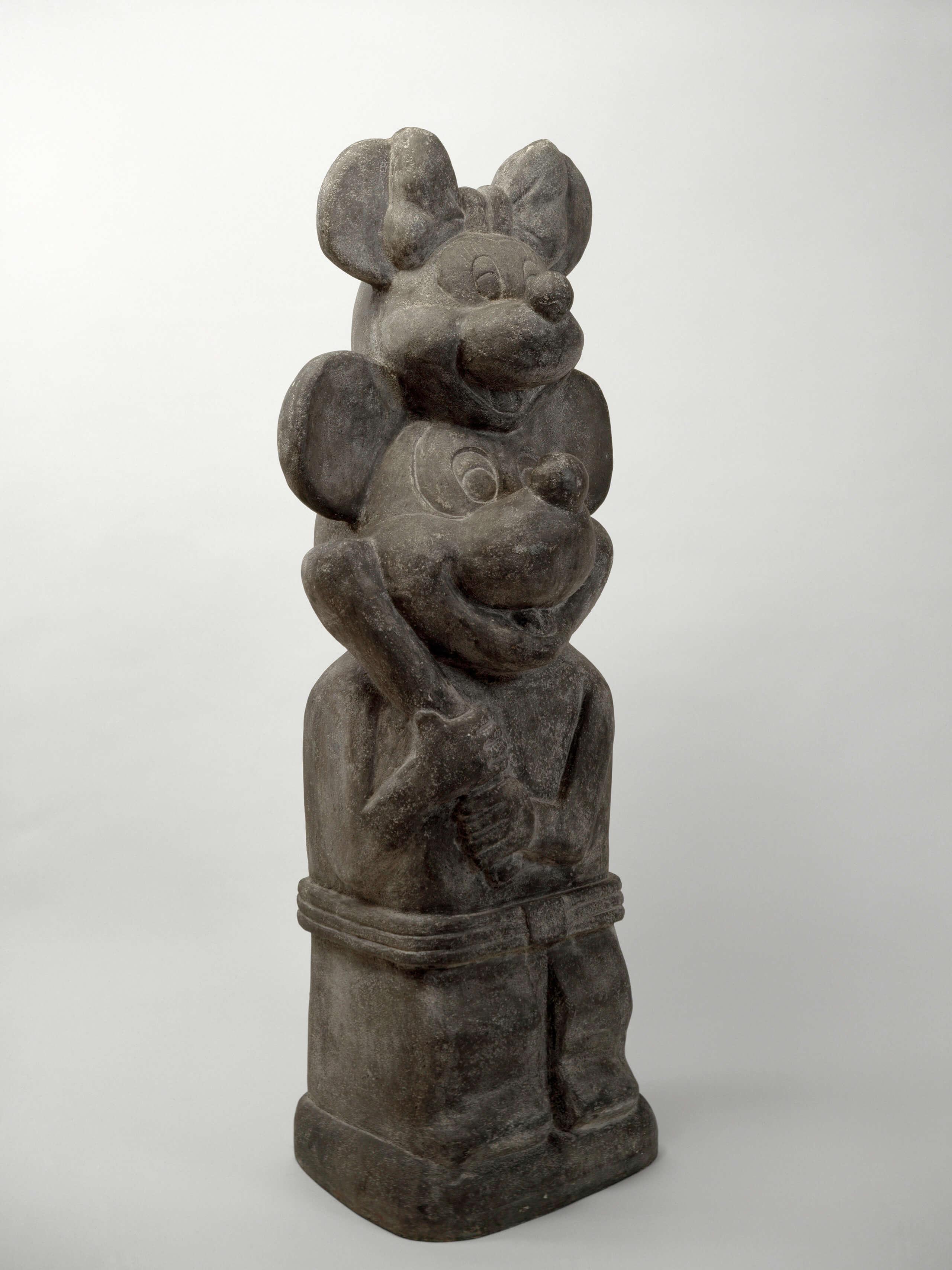 Pieza arcaica (Doble yo)   Portadores de sentido. Arte contemporáneo en la Colección Patricia Phelps de Cisneros.   Museo Amparo, Puebla