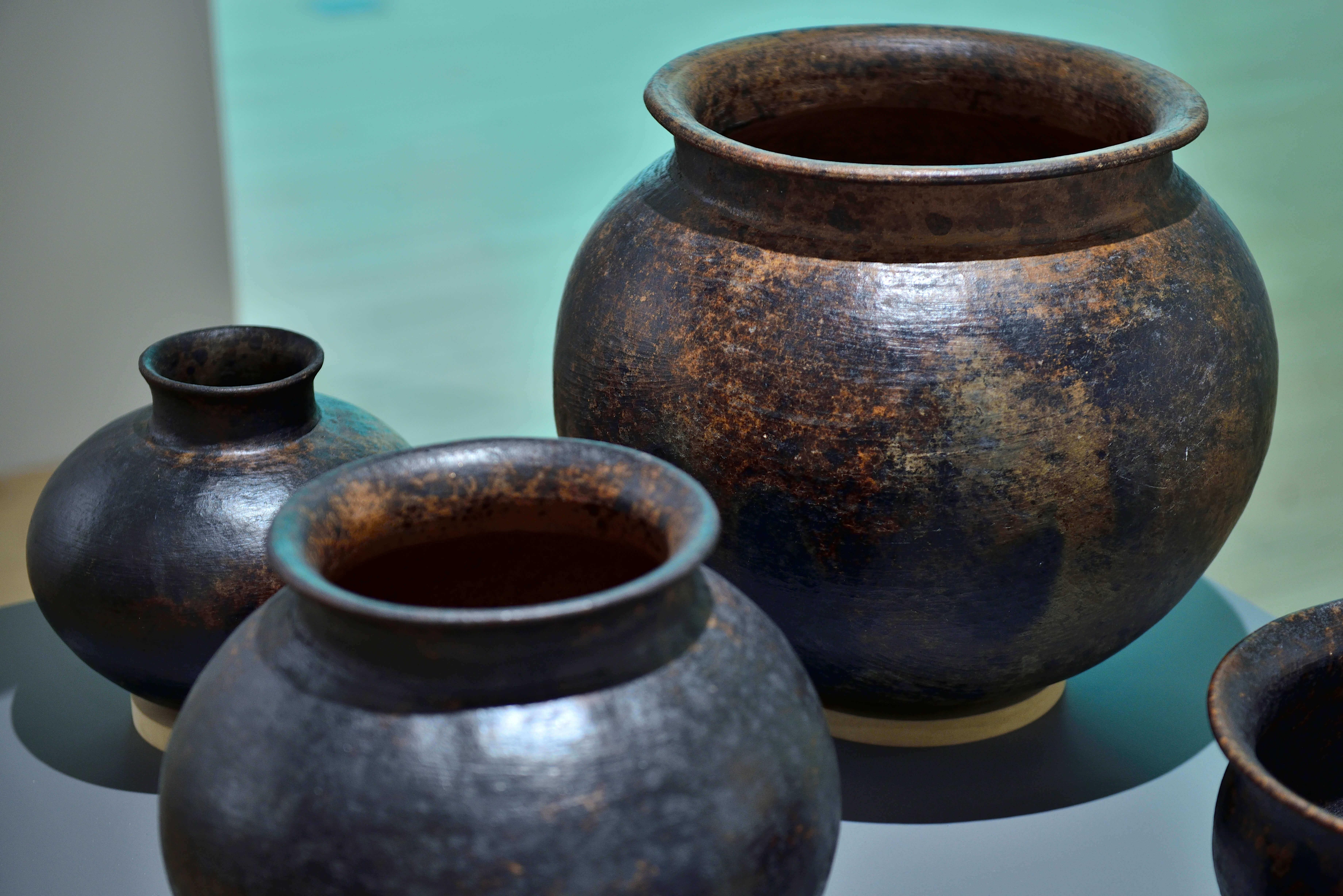 Ollas | Barro y Fuego. El arte de la alfarería en Oaxaca | Museo Amparo, Puebla