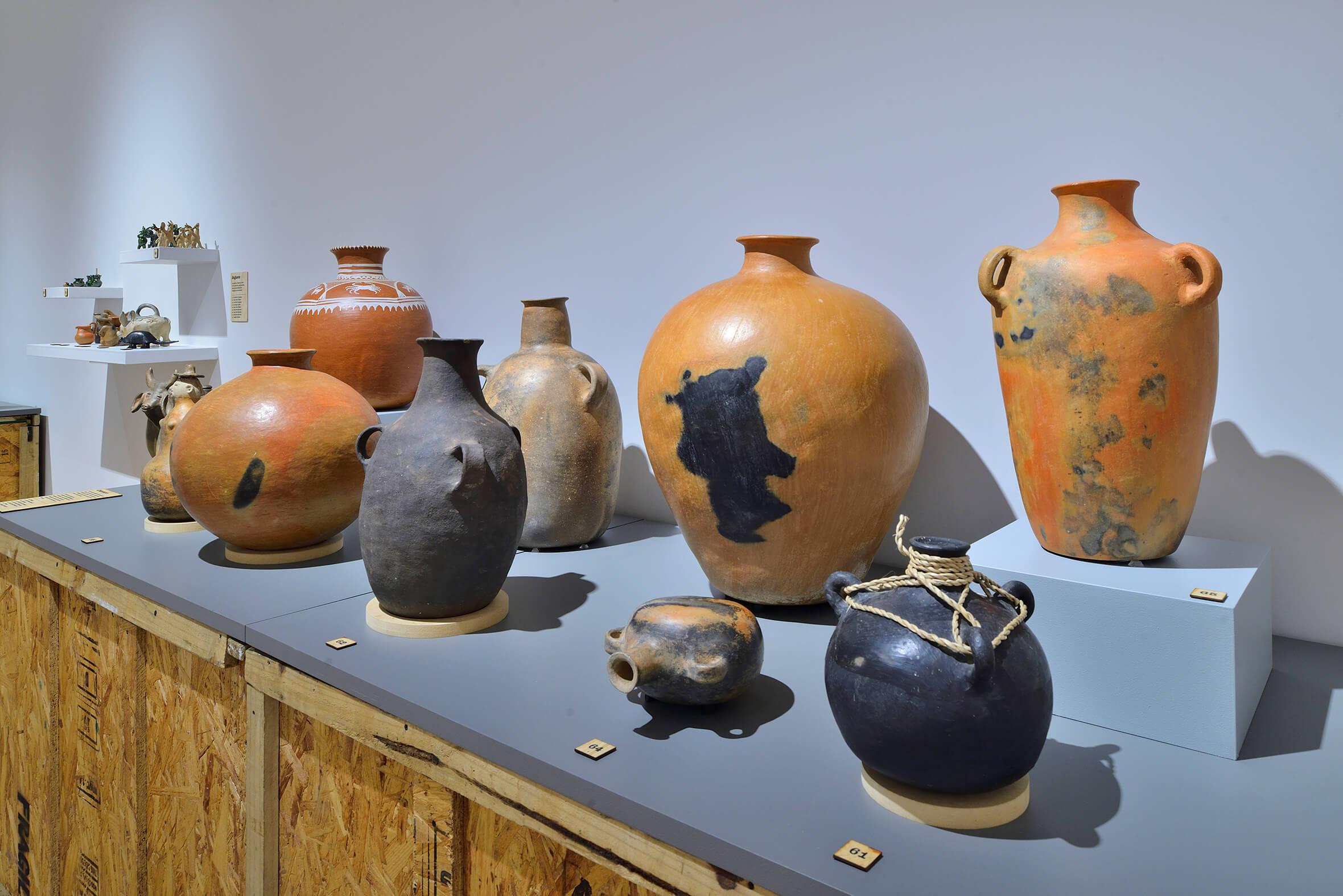Tinajas | Barro y Fuego. El arte de la alfarería en Oaxaca | Museo Amparo, Puebla