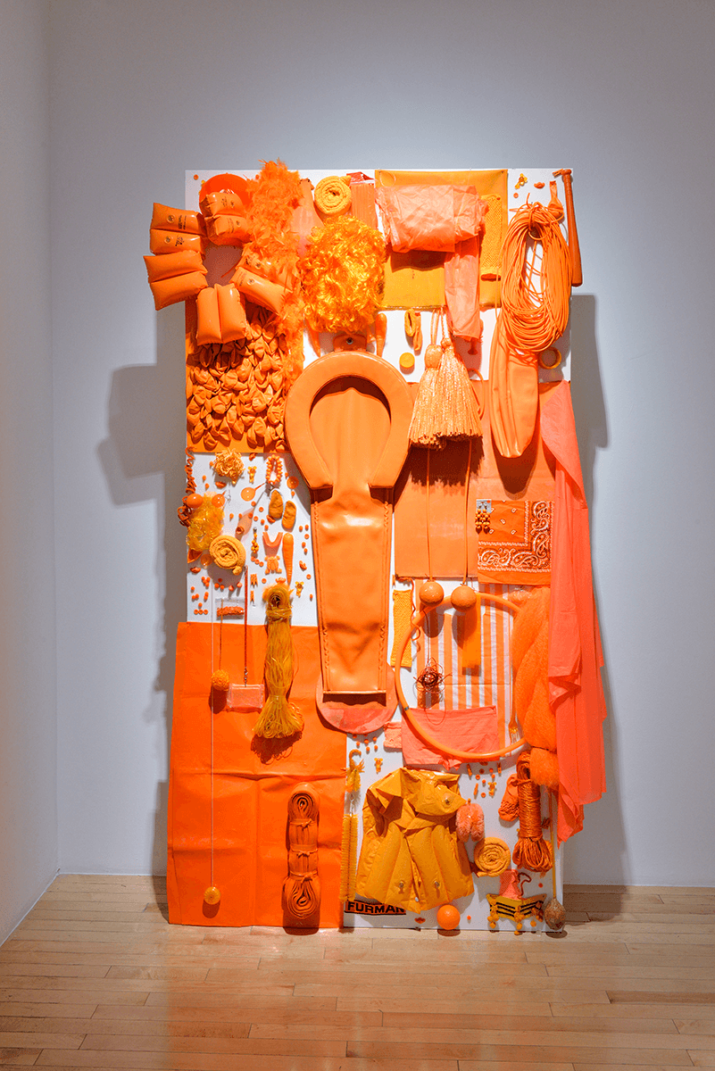Orange Lush I | Melanie Smith. Farsa y artificio | Museo Amparo, Puebla