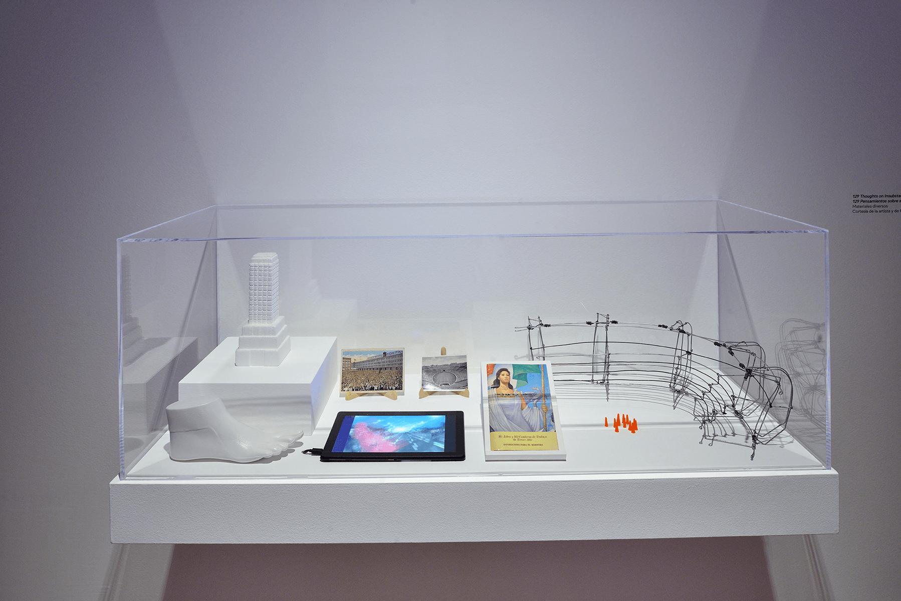 129 Pensamientos sobre sujetos y temas insustanciales | Melanie Smith. Farsa y artificio | Museo Amparo, Puebla