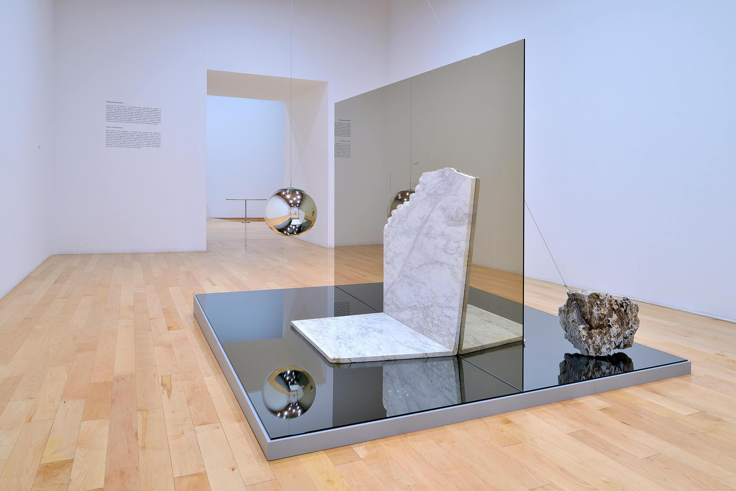 Paisaje Metafísico, 2019 | Jose Dávila. Pensar como una montaña | Museo Amparo, Puebla