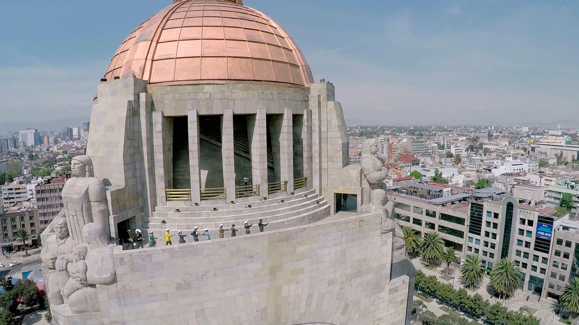 La rueda no se parece a una pierna | Re Mayor No Es Azul | Museo Amparo, Puebla