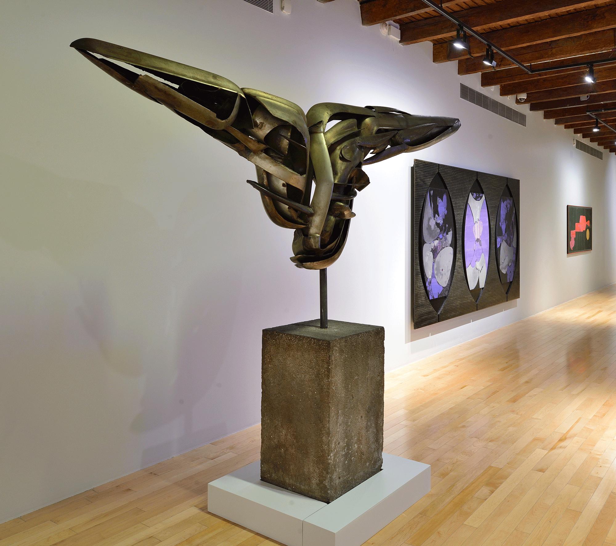 Ícaro   Un arte sin tutela: Salón Independiente en México, 1968-1971    Museo Amparo, Puebla