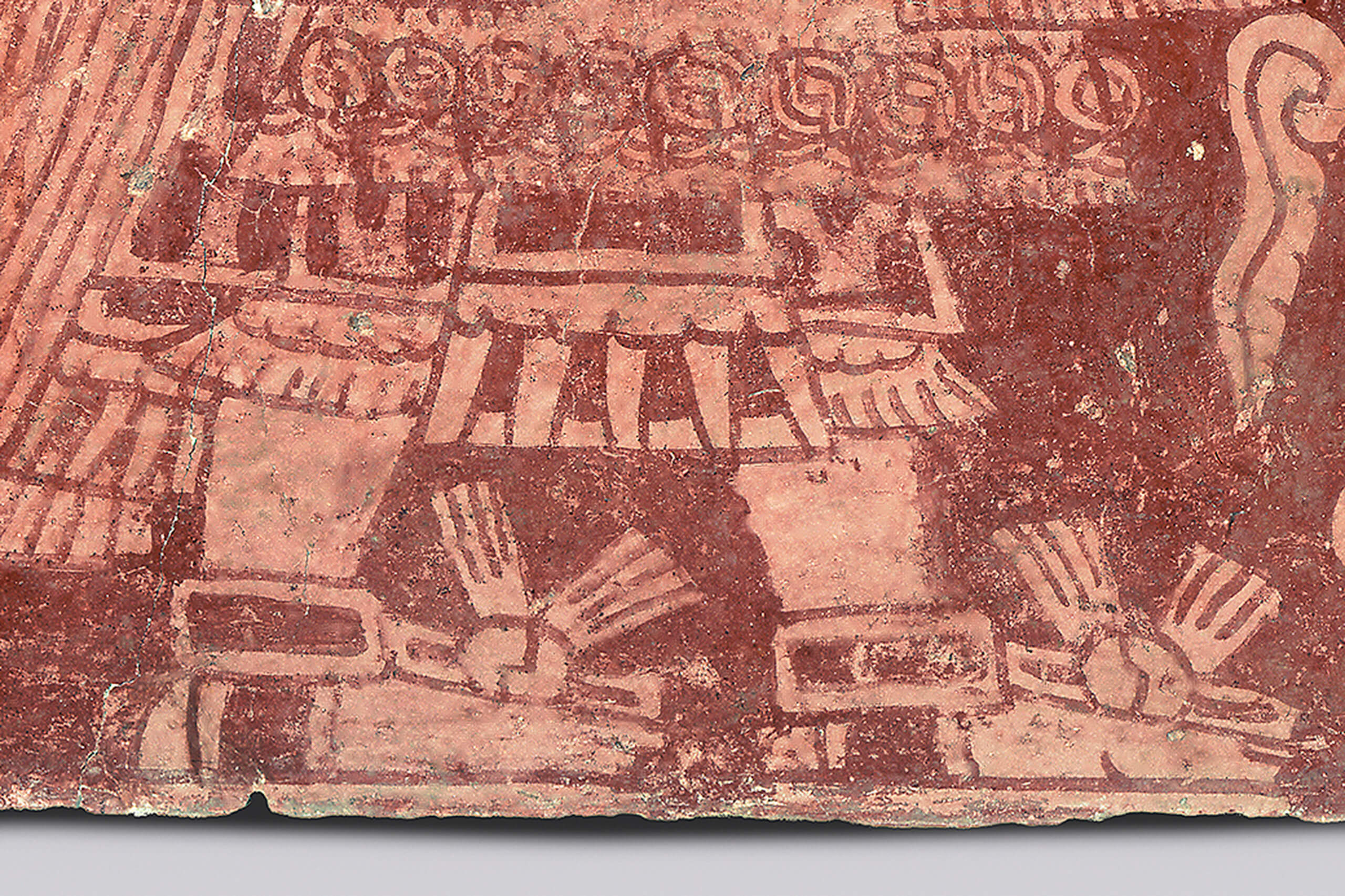 El dios tl loc fragmento de pintura mural el m xico for El mural avisos de ocasion