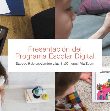 Presentación del Programa Escolar Digital   Actividades   Museo Amparo, Puebla.