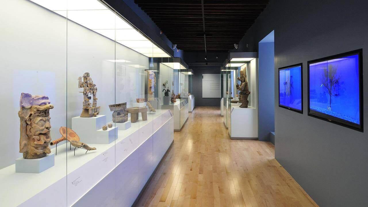 El México antiguo. Salas de Arte Prehispánico   Museo Amparo, Puebla.