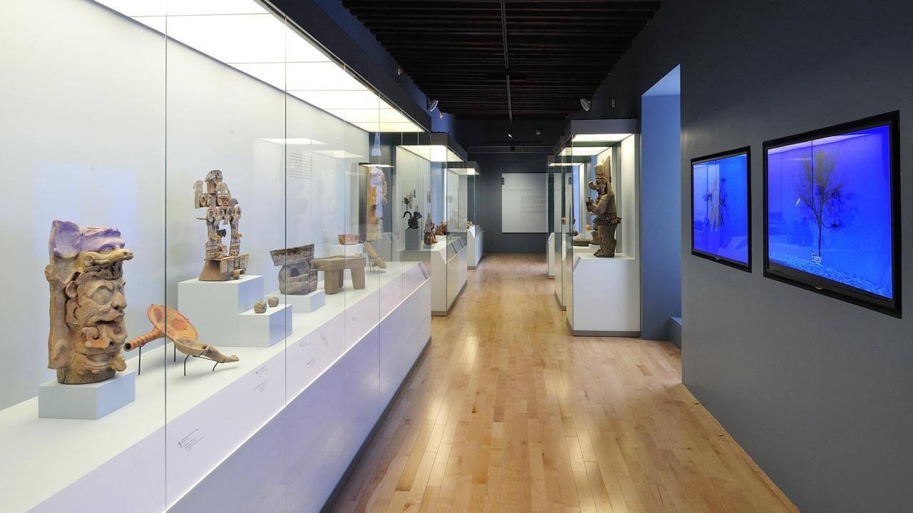 El México antiguo. Salas de Arte Prehispánico | Museo Amparo, Puebla.