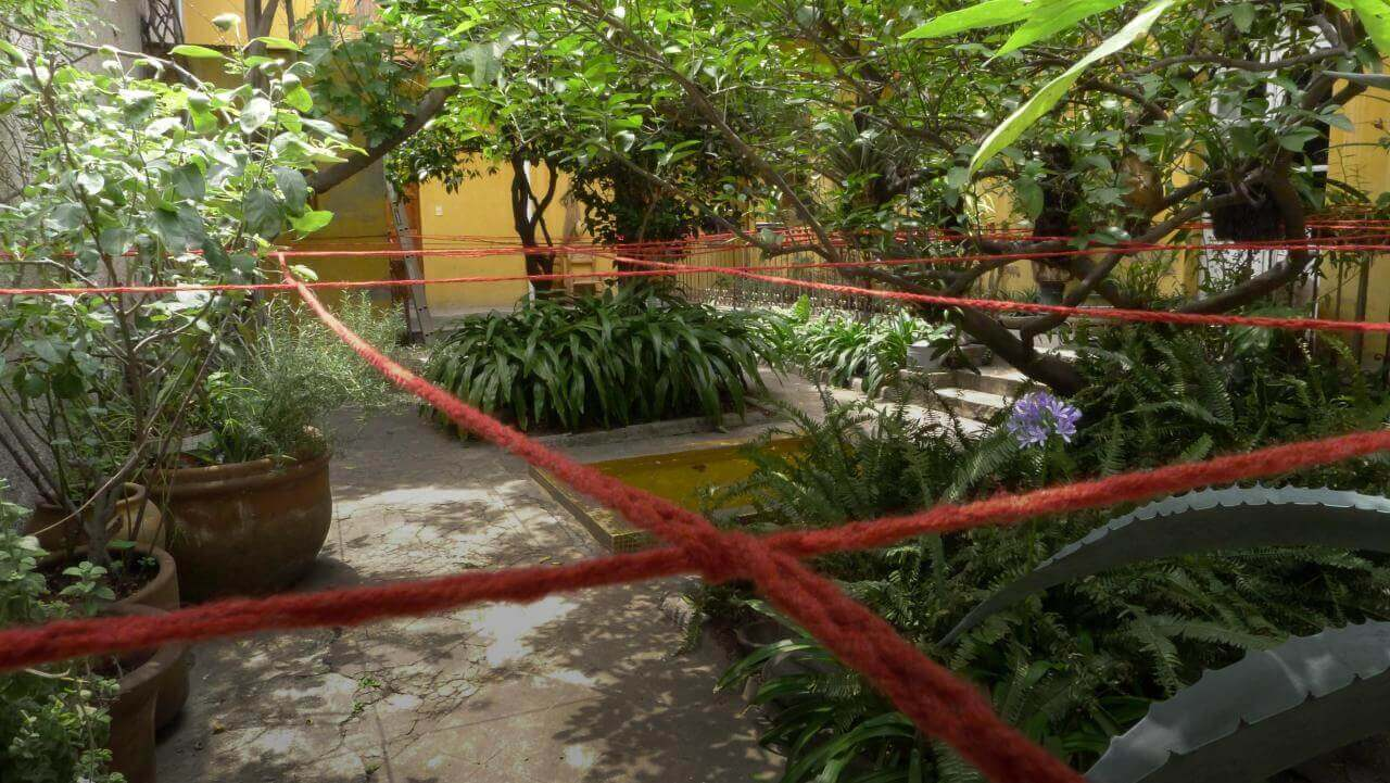 Silvia Gruner. Hemisferios: Apuntes para un laberinto | Museo Amparo, Puebla.