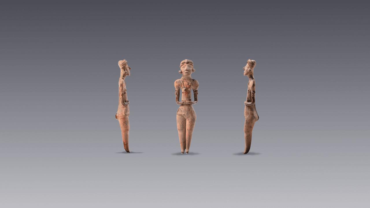 Vislumbres de la bóveda. Selección de piezas prehispánicas en resguardo | Museo Amparo, Puebla.